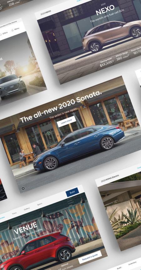 Hyundai Website Redesign